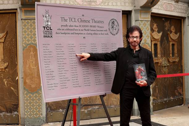 "CA: Actor George Chakiris Celebrates 60th Anniversary Of ""West Side Story"" With Unveiling Of New Plaque Honoring All Oscar Winners' Handprint-Footprints In TCL Chinese Forecourt"