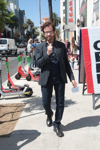 CA: Celebrity Sightings In Los Angeles - August 05, 2021