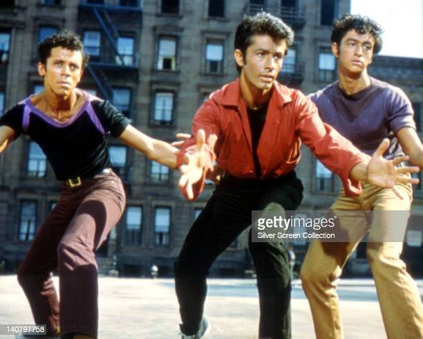George Chakiris , US actor, in a publicity image issued for the film adaptation of 'West Side Story', USA, 1961. The musical, directed by Jerome...