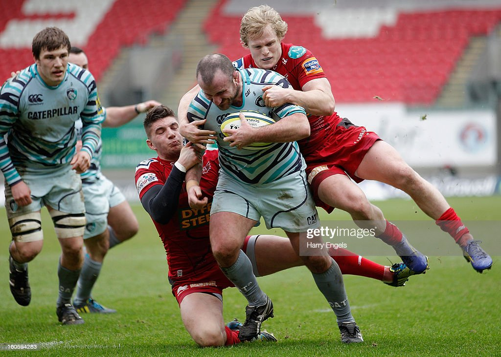 Scarlets v Leicester Tigers - LV= Cup