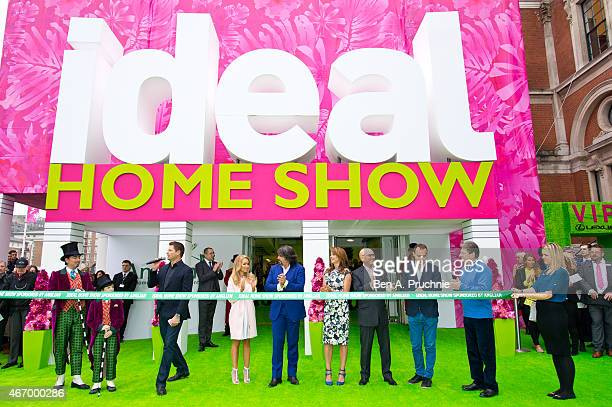 George Clarke, Katie Piper, Laurence Llewelyn-Bowen, Suzi Perry, Gregg Wallace, Martin Lewis and Alan Titchmarsh attends a photocall to launch the...