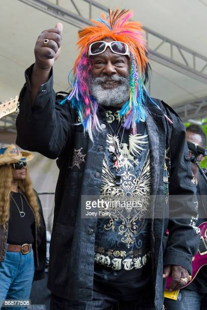George Clinton And The Parliament Funkadelic perform at the Indianapolis Motor Speedway on May 9, 2009 in Indianapolis, Indiana.