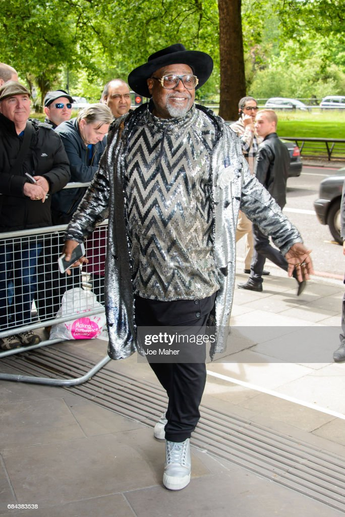 George Clinton attends the Ivor Novello Awards at Grosvenor House, on May 18, 2017 in London, England.