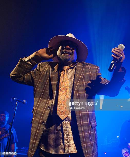 George Clinton performs on stage at O2 Academy Oxford on April 16 2015 in Oxford United Kingdom