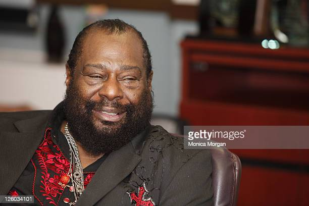 George Clinton visits US Congressman John Conyers' Office on December 30 2010 in Detroit Michigan