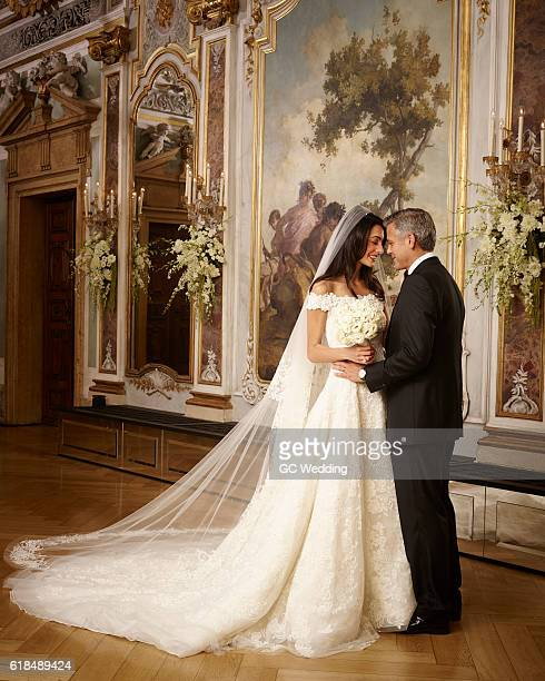 George Clooney and Amal Alamuddin Wedding on September 27 2014 in Venice Italy