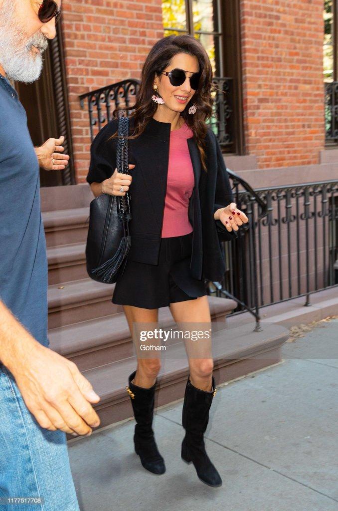 Celebrity Sightings In New York City - September 27, 2019 : News Photo