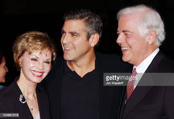 George Clooney and his mother father Nick Clooney