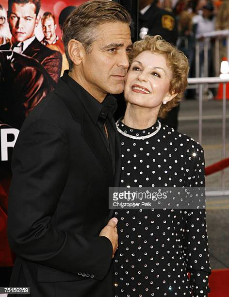 George Clooney and mom