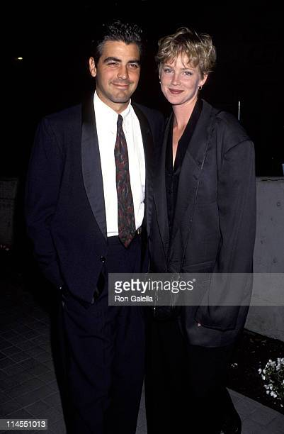 George Clooney and Tracey Needham during Latino Classical Repertory 1st Annual Gala and Fundraiser at LA Theater Center in Los Angeles California...