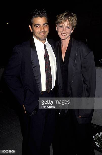 George Clooney and Tracey Needham