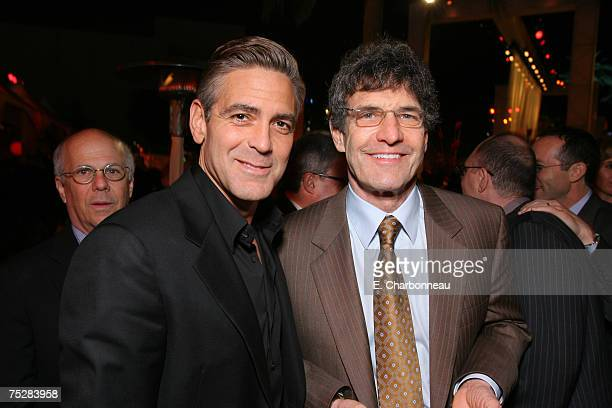 George Clooney and Warner Bros's Alan Horn