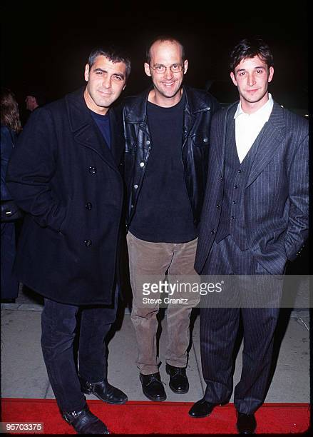 George Clooney Anthony Edwards and Noah Wyle
