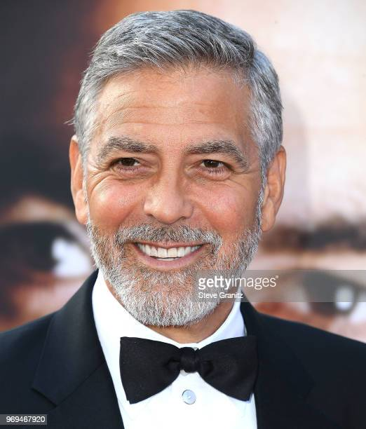 George Clooney arrives at the American Film Institute's 46th Life Achievement Award Gala Tribute To George Clooney on June 7 2018 in Hollywood...