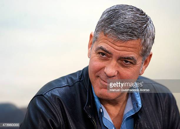 George Clooney attends at the 'Tomorrowland' Press Conference at the L'Hemisferic on May 19 2015 in Valencia Spain