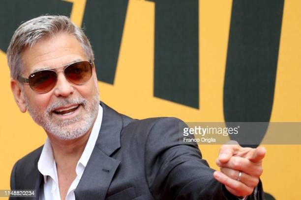 George Clooney attends 'Catch22' Photocall a Sky production at The Space Moderno Cinema on May 13 2019 in Rome Italy
