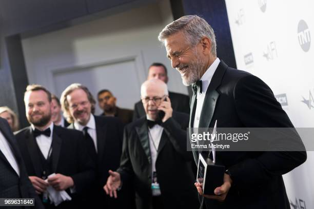George Clooney attends the American Film Institute's 46th Life Achievement Award Gala Tribute to George Clooney at Dolby Theatre on June 7 2018 in...