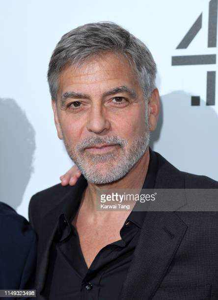 George Clooney attends the Catch 22 UK premiere at the Vue Westfield on May 15 2019 in London United Kingdom