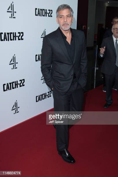 George Clooney attends the Catch 22 UK premiere on May 15 2019 in London United Kingdom