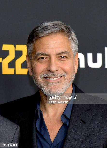 "George Clooney attends the FYC Red Carpet for Hulu's ""Catch-22"" at Saban Media Center on May 08, 2019 in North Hollywood, California."