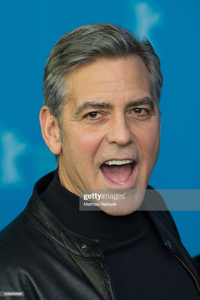 George Clooney attends the 'Hail, Caesar!' photo call during the 66th Berlinale International Film Festival Berlin at Grand Hyatt Hotel on February 11, 2016 in Berlin, Germany.
