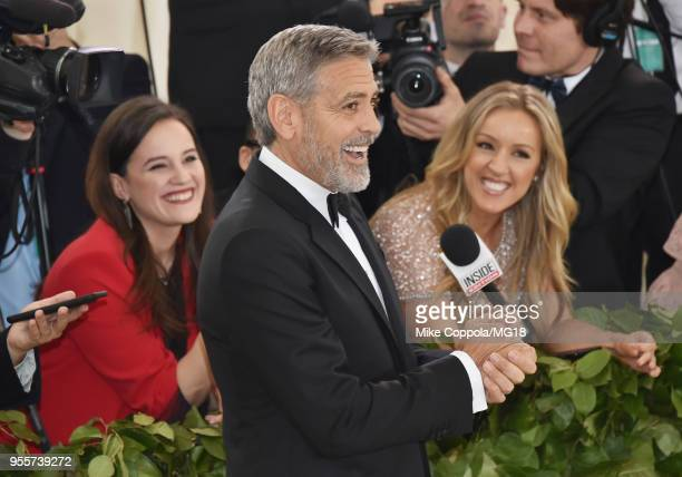 George Clooney attends the Heavenly Bodies: Fashion & The Catholic Imagination Costume Institute Gala at The Metropolitan Museum of Art on May 7,...