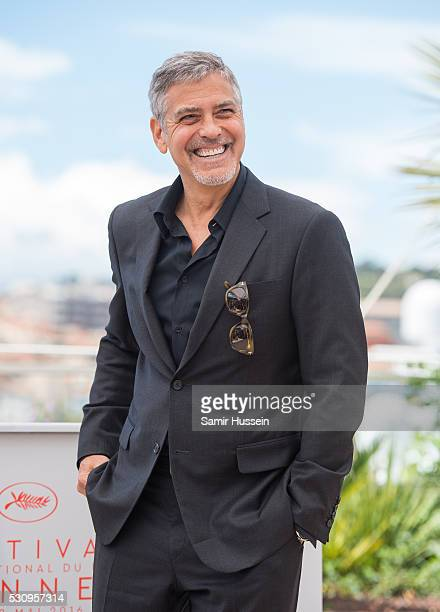 "George Clooney attends the ""Money Monster"" Photocall at the annual 69th Cannes Film Festival at Palais des Festivals on May 12, 2016 in Cannes,..."
