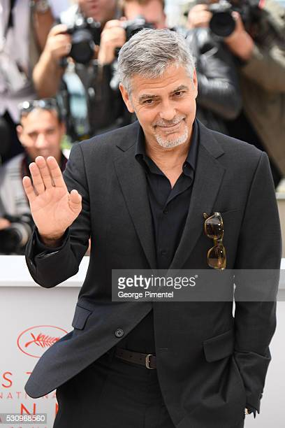 George Clooney attends the Money Monster Photocall at the annual 69th Cannes Film Festival at Palais des Festivals on May 12 2016 in Cannes France