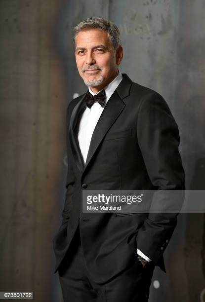 George Clooney attends the OMEGA 'Lost In Space' dinner to celebrate the 60th anniversary of the OMEGA Speedmaster which has been worn by every...