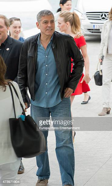 George Clooney attends the photocall for 'Tomorrowland' at the L'Hemisferic on May 19 2015 in Valencia Spain