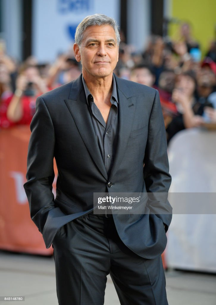 George Clooney attends the premiere of 'Suburbicon' during the 2017 Toronto International Film Festival at Princess of Wales on September 9, 2017 in Toronto, Canada.