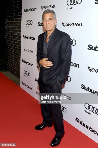 George Clooney attends the Suburbicon post premiere party hosted by Nespresso and Audi during the 2017 Toronto International Film Festival held at...