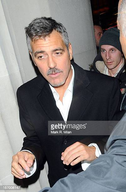 George Clooney is seen on December 5 2008 in London England