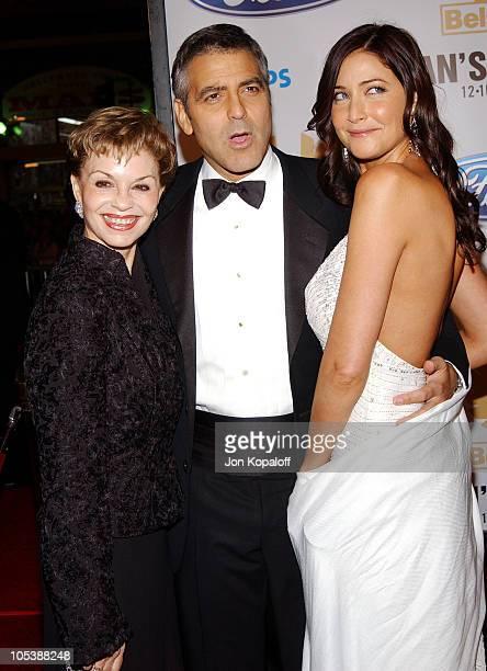 George Clooney mom Nina Warren Clooney and Lisa Snowdon