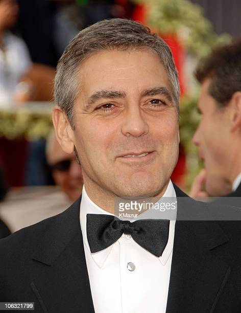 """George Clooney, nominee Best Director and Best Original Screenplay for """"Good Night, and Good Luck."""" and nominee Best Actor in a Supporting Role for..."""