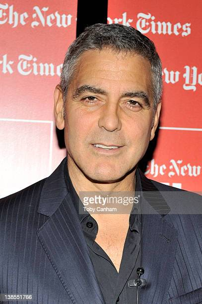 George Clooney paticipates in TimesTalks 'A Conversation With George Clooney And Alexander Payne' at SilverScreen Theater at the Pacific Design...