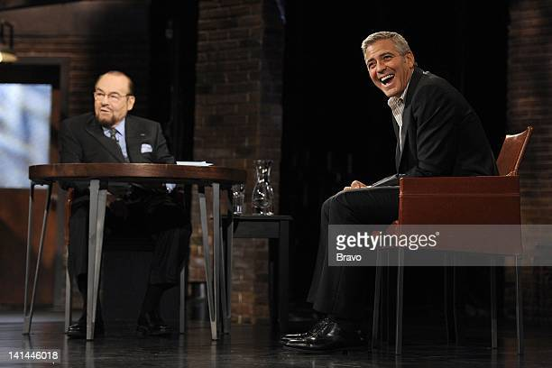S STUDIO George Clooney Pictured Host James Lipton George Clooney Photo by Anthony Behar/Bravo/NBCU Photo Bank