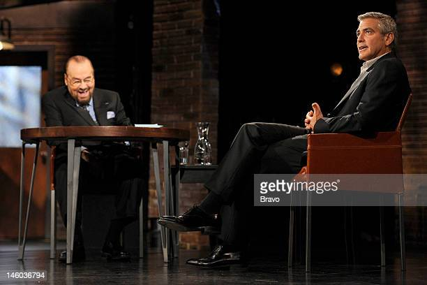 S STUDIO George Clooney Pictured Host James Lipton George Clooney