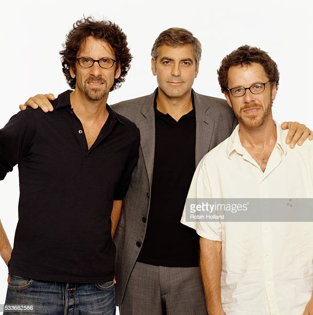 George Clooney stars in Intolerable Cruelty and O, Brother Where Art Thou?, films by Ethan (right) and Joel Coen.