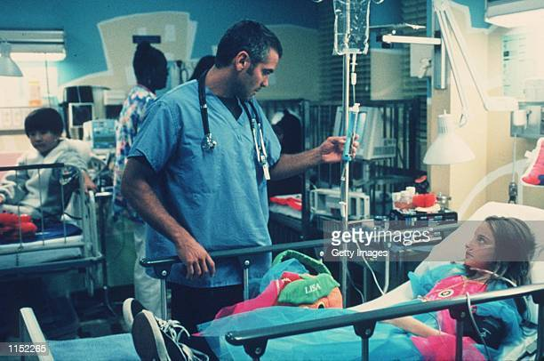 George Clooney stars in the latest season of 'ER'