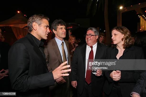 George Clooney Warner Bros's Alan Horn Village Roadshow's Bruce Berman and Village Roadshow's Dana Goldberg