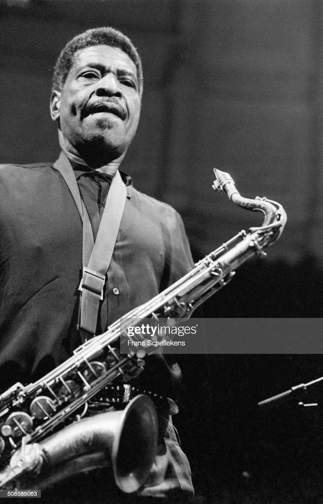 George Coleman, tenor saxophone, performs at the Paradiso on 27th October 1996 in Amsterdam, Netherlands.