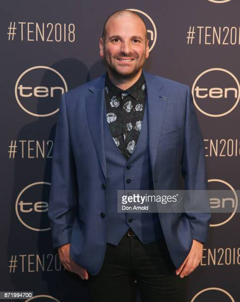 George Colombaris poses during the Network Ten 2018 Upfronts on November 9, 2017 in Sydney, Australia.