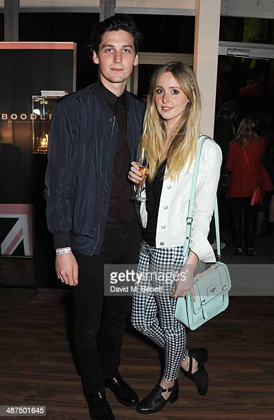 George Craig and Diana Vickers attend the Battersea Power Station Annual Party on April 30 2014 in London England