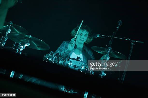 George Daniel of The 1975 performs at Electric Picnic Festival at Stradbally Hall Estate on September 2 2016 in Laois Ireland