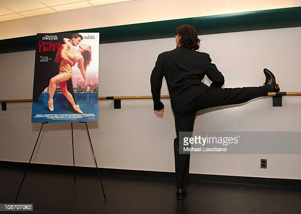George De La Pena during Patrick Swayze and Wife Lisa Niemi Celebrate Their New Film One Last Dance at The Joyce Theater in New York City New York...
