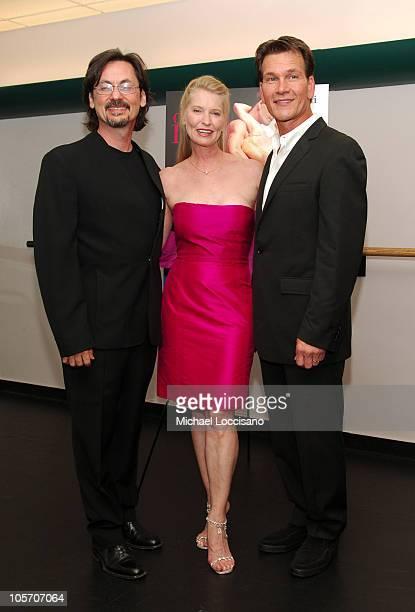 George De La Pena Lisa Niemi costar/cowriter/codirector and Patrick Swayze costar/cowriter/coproducer