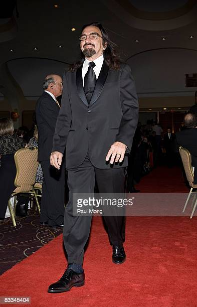 George DiCaprio arrives at the National Italian American Foundation 33rd Anniversary Awards at the Hilton Washington and Towers on October 18, 2008...