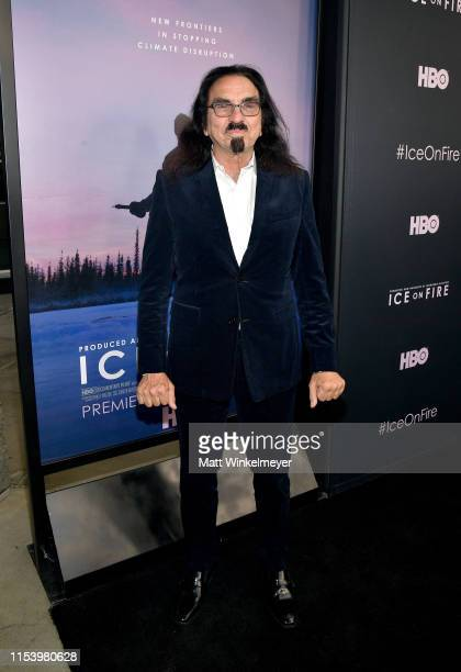 George DiCaprio attends the LA Premiere of HBO's 'Ice On Fire' at LACMA on June 05 2019 in Los Angeles California