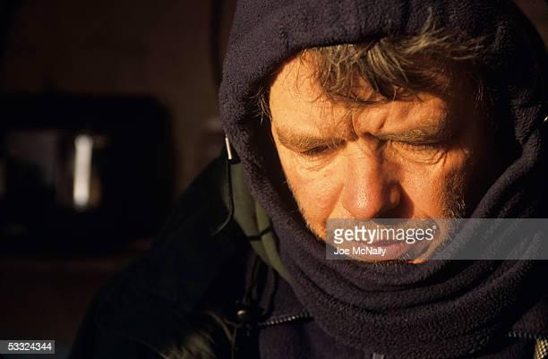 George Divoky ponders the perils of global warming August 2001 on Cooper Island Alaska Ornithologist George Divoky has journeyed to Cooper Island off...
